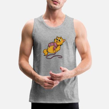 Wool cat wool kitten - Men's Premium Tank
