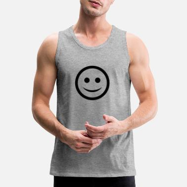 Happy Face happy Face - Men's Premium Tank Top
