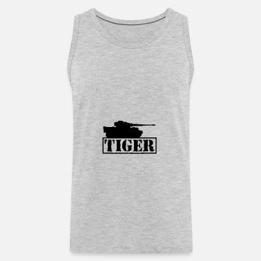 Tiger main battle tank military Men's Premium T-Shirt