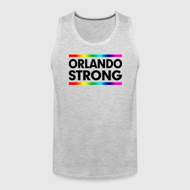 ORLANDO STRONG LOVE WINS! LOVE ALWAYS WINS! - Men's Premium Tank