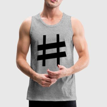 sharp note - Men's Premium Tank
