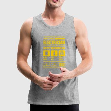 Electrician Safety Information - Men's Premium Tank