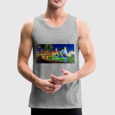 617816 jc nichols memorial fountain country club p - Men's Premium Tank
