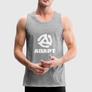 ADAPT WHITE - Men's Premium Tank