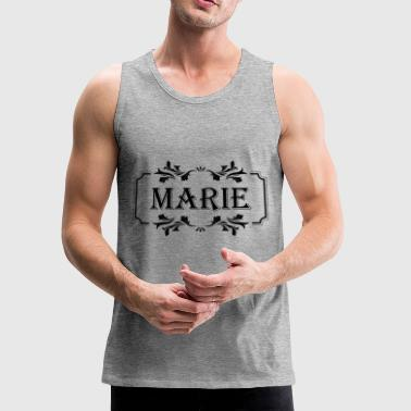 First Name Marie female girl woman gift idea - Men's Premium Tank