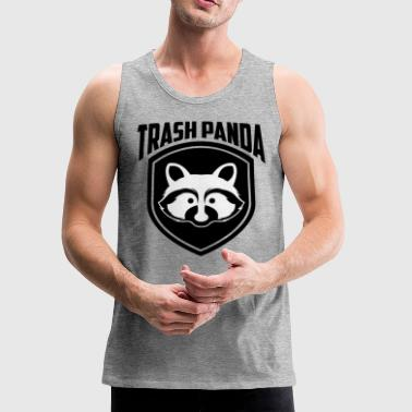 Cute Trash Panda Raccoon, Save The Trash Panda - Men's Premium Tank