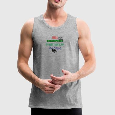 Being geographers - Men's Premium Tank
