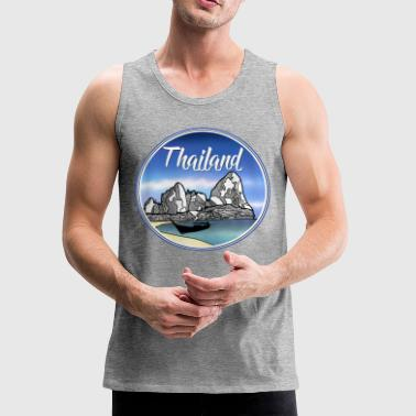 Thailand tropical beach - Men's Premium Tank
