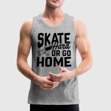 Train Roller Skate Hard Shirt - Men's Premium Tank