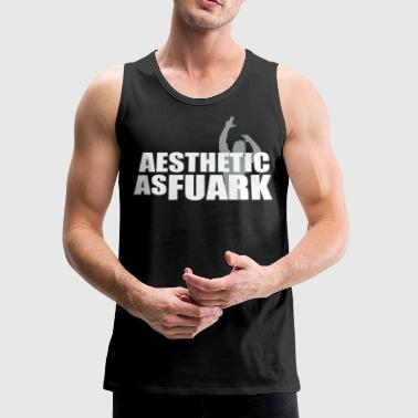 Zyzz Aesthetic as FUARK - Men's Premium Tank