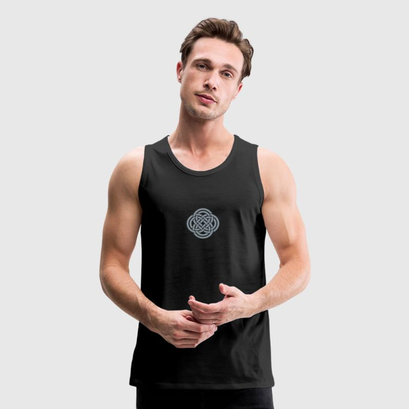 Celtic double loops - Men's Premium Tank