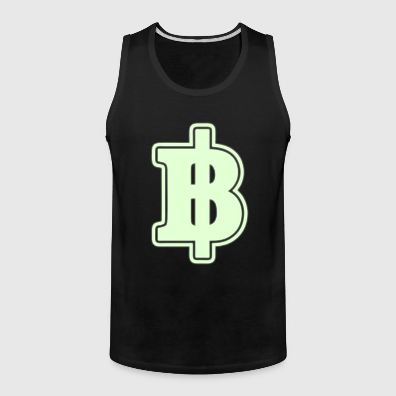 Baht Sign / Symbol Thai / Thailand Money / Currency - Men's Premium Tank