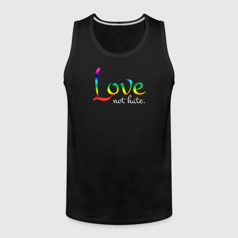 Love Not Hate Orlando Strong Love Wins - Men's Premium Tank
