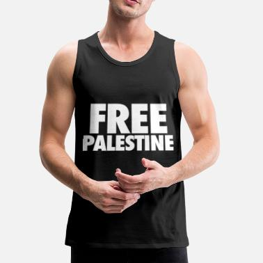 Occupation Free Palestine - Men's Premium Tank