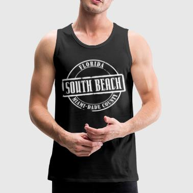 South Beach Title B - Men's Premium Tank
