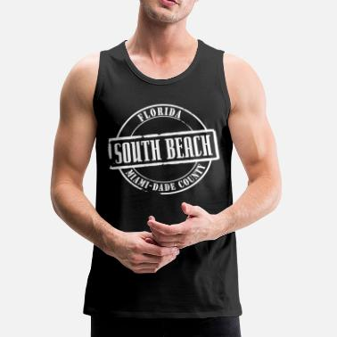 South Beach South Beach Title B - Men's Premium Tank