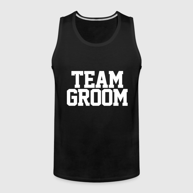 Team Groom - Men's Premium Tank