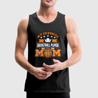 Womens Basketball Womens Basketball Mom; Gift for Women - Men's Premium Tank