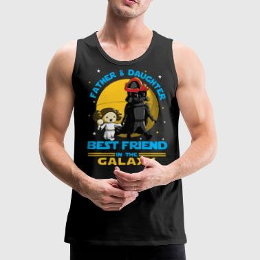 Father and Daughter in the Galaxy - Men's Premium Tank