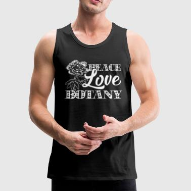 Peace Love Botany Shirt - Men's Premium Tank