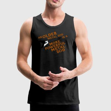 An Older Metal God is a More Powerful Metal God - Men's Premium Tank