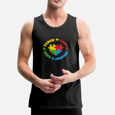 Autism Awareness Autism Awareness - Men's Premium Tank