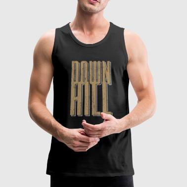 Downhill Bicycle Jump Dirt Mud - Men's Premium Tank