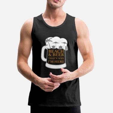 Seaside Beach Seaside Funny Gift - Men's Premium Tank