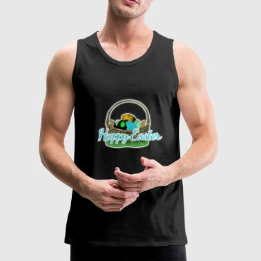 Easter basket of the Easter Bunny - Men's Premium Tank
