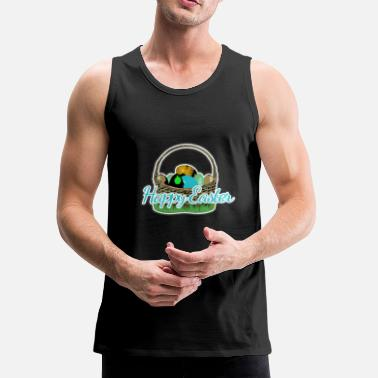 Easter Bunny Easter basket of the Easter Bunny - Men's Premium Tank
