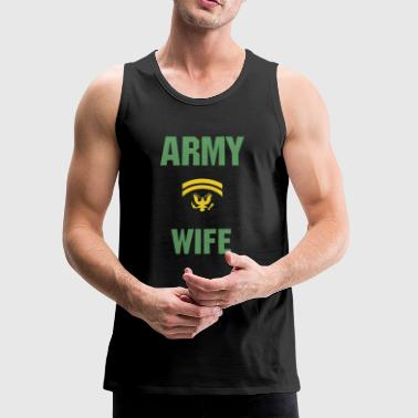 Army Wife - Men's Premium Tank