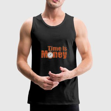 Timo Time is Money - Men's Premium Tank