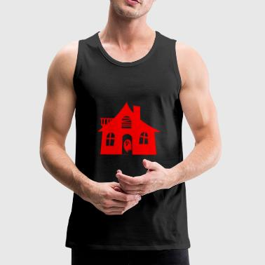 Haunted House haunted house - Men's Premium Tank