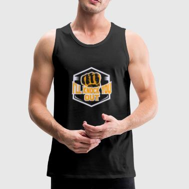 Muay Thai thailand kickbox - Men's Premium Tank