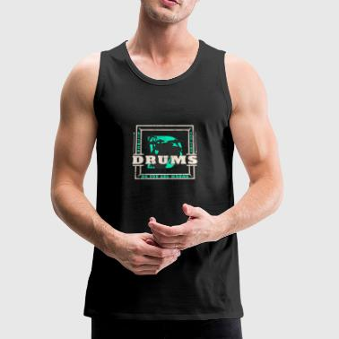 Drumming Drums - Men's Premium Tank