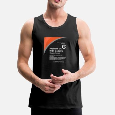 Syrup Cough Syrup - Men's Premium Tank