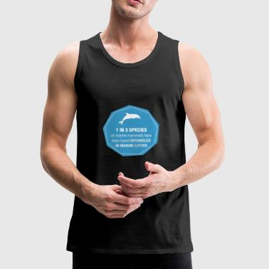 save marine mammals - Men's Premium Tank