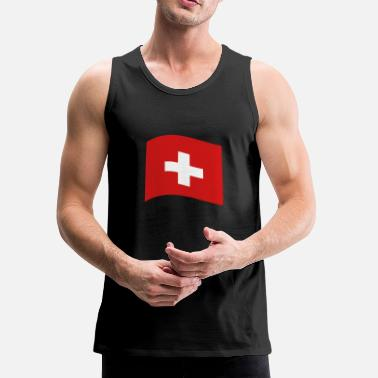 Switzerland Switzerland, swiss flag - Men's Premium Tank