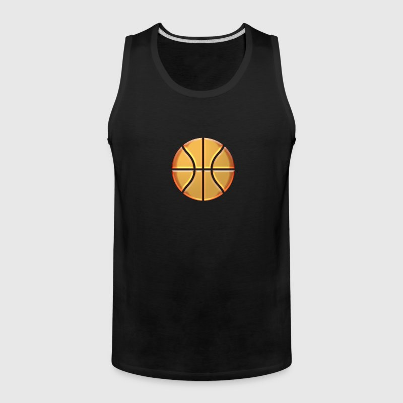 Golden Basketball - Men's Premium Tank