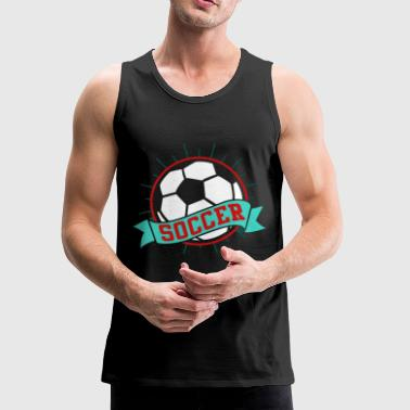 Soccer ball - Men's Premium Tank