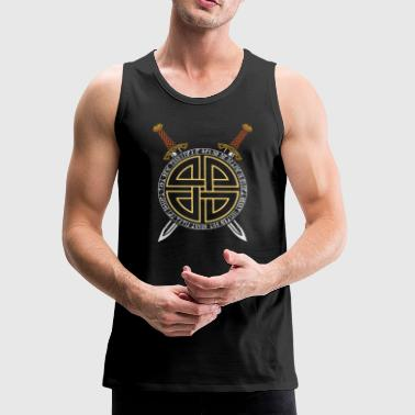 Viking Swords | Norse Mythology - Men's Premium Tank