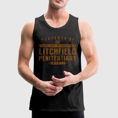 Property Of Litchfield - Men's Premium Tank