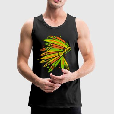 Chieftain's Headdress - Men's Premium Tank
