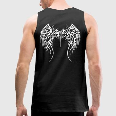 Tribal Wings - Men's Premium Tank