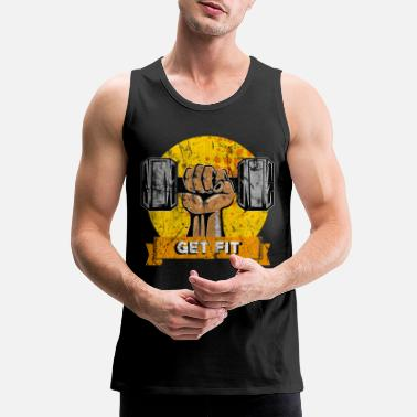 Sports Sports Gym Fitness Gift Idea - Men's Premium Tank Top