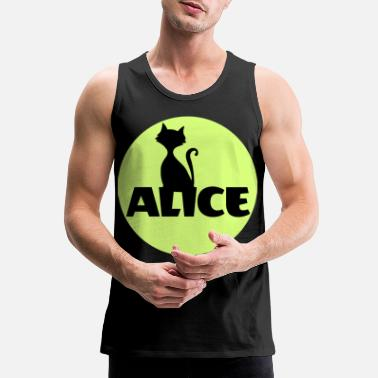 Name Day Alice First name Name Personal gift Name day - Men's Premium Tank Top