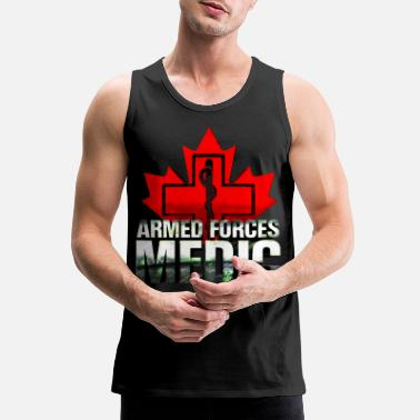 Army Canadian Armed Forces Medic - Men's Premium Tank Top