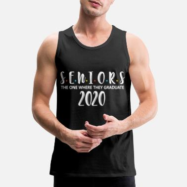 Senior Class Of 2020 Seniors 2020 Class of 2020 Graduation - Men's Premium Tank Top