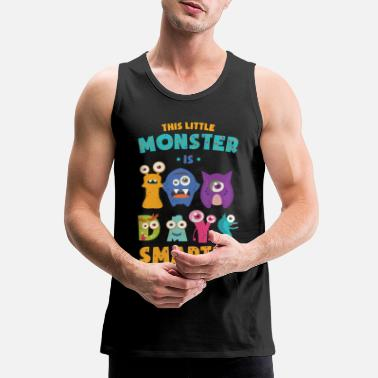 Enrolment This Little Monster Is 100 Days Smarter School Kid - Men's Premium Tank Top