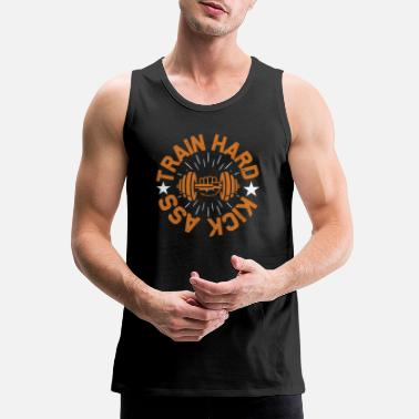Power Press Training Fitness Sport - Men's Premium Tank Top
